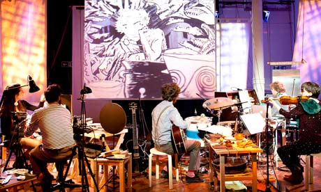 Paper Cinema's Odyssey at Battersea Arts Centre BAC